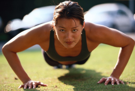 Pushups Are Great Breast Exercises For Women Shed Your