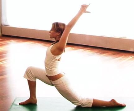 Pozicione e Yoga ' s  Yoga-position