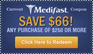 Medifast coupon $66 off